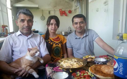 Ouzbékistan Poésie Davron Radjab