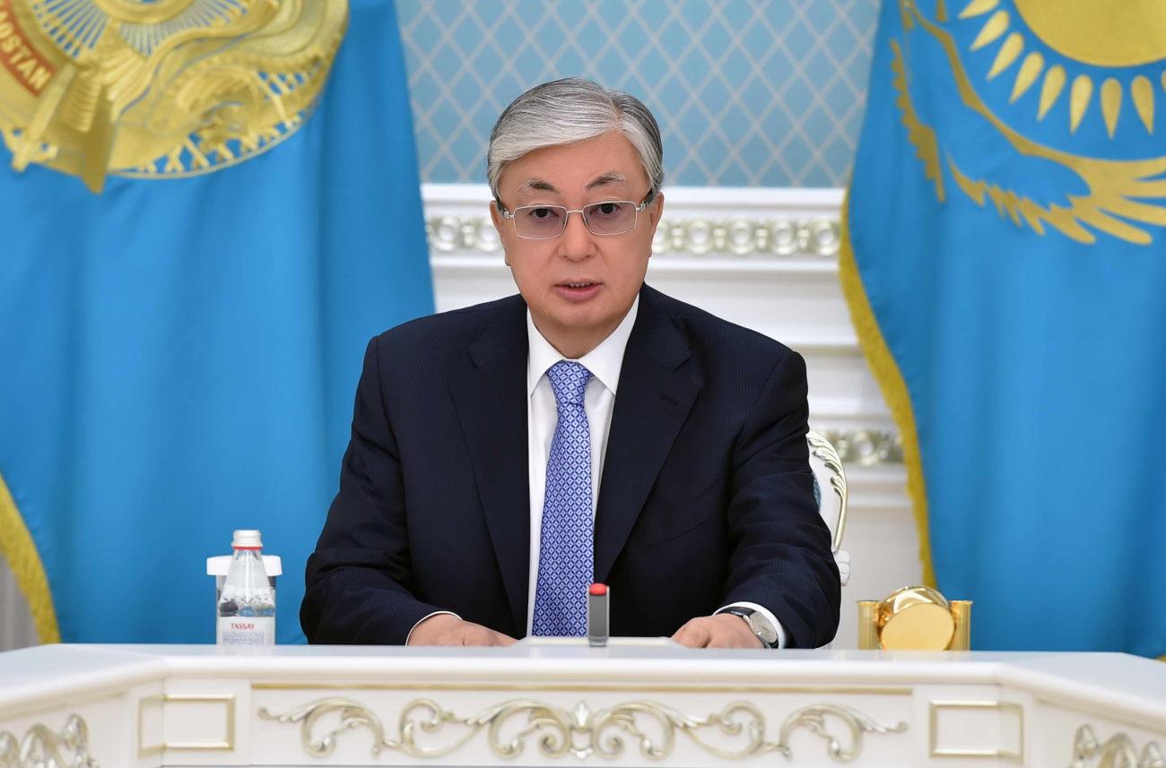Kassym Jomart Tokaiev Discours Président Kazakhstan Famine URSS