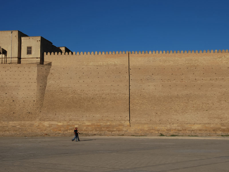 Forteresse historique ouzbékistan boukhara arche
