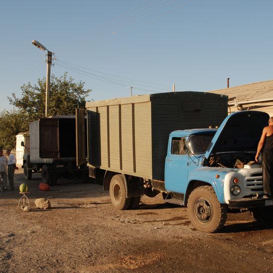 été après-midi dBoukhara Ouzbékistan