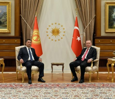 Sadyr Japarov Visite officielle Turquie Kirghizstan Recep Tayyip Erdogan