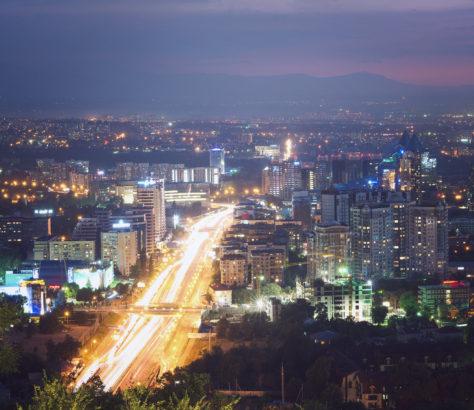 Almaty Kazakhstan Nur-Sultan Qualité de l'air Pollution Environnement