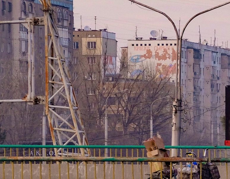 Photo du jour Kirghizstan Ville Recyclage