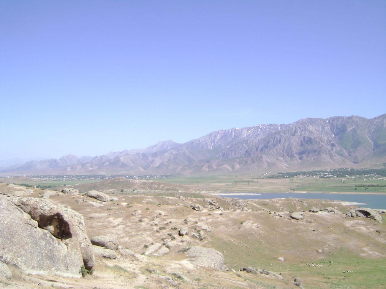 Zeravchan Rivière Ouzbékistan Tarie Environnement Koundouzak