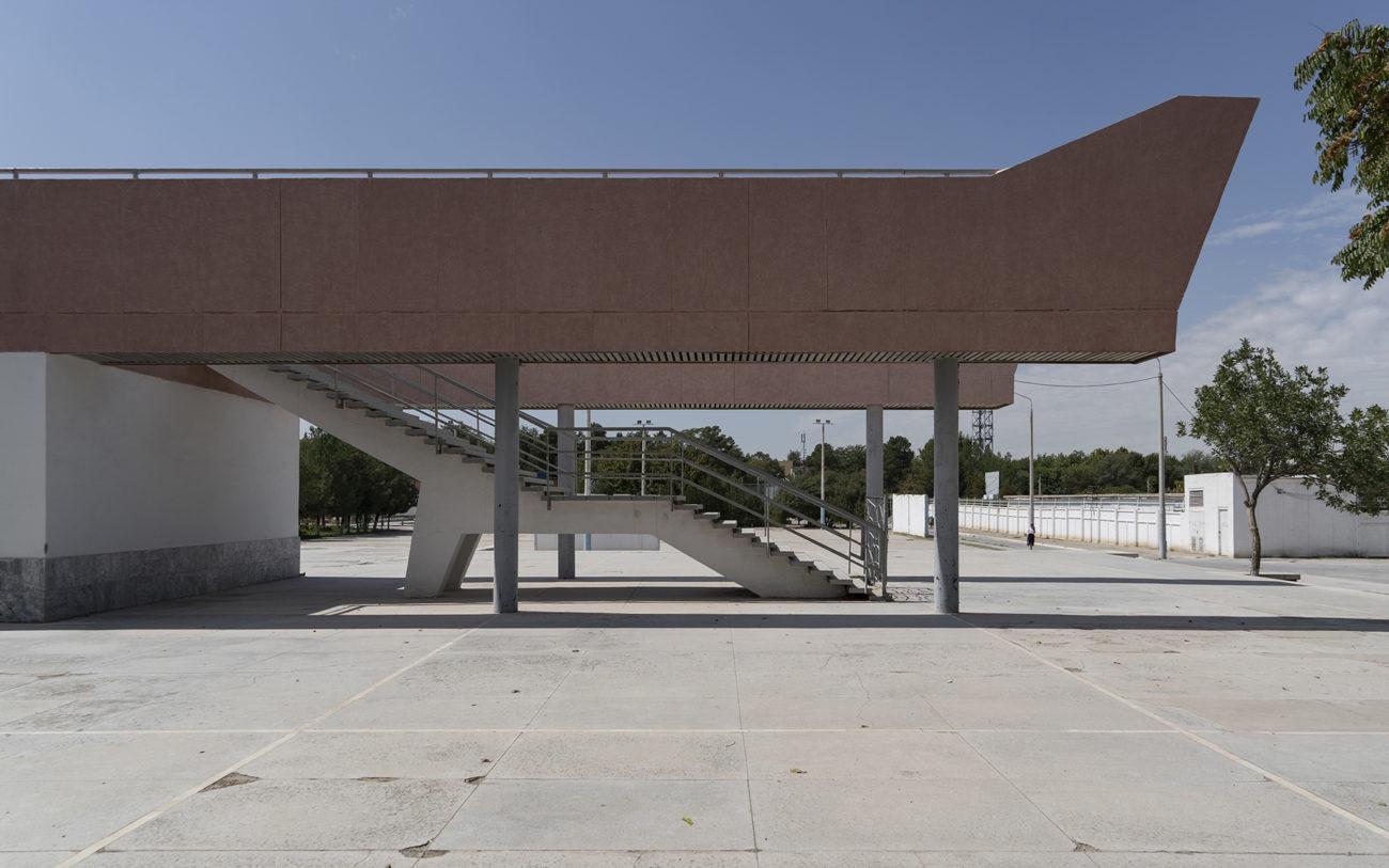 Photo du jour Ouzbékistan Architecture soviétique Navoi