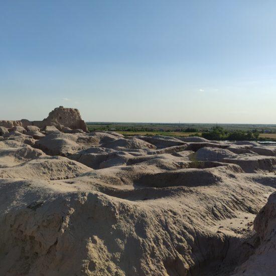 Photo du Jour Ouzbékistan Noukous Forteresse Ruines