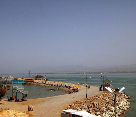 Réservoir Kaïrakoum Tadjikistan Kazakhstan Eau Echange