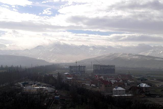 Bichkek Kirghizstan Environnement Pollution