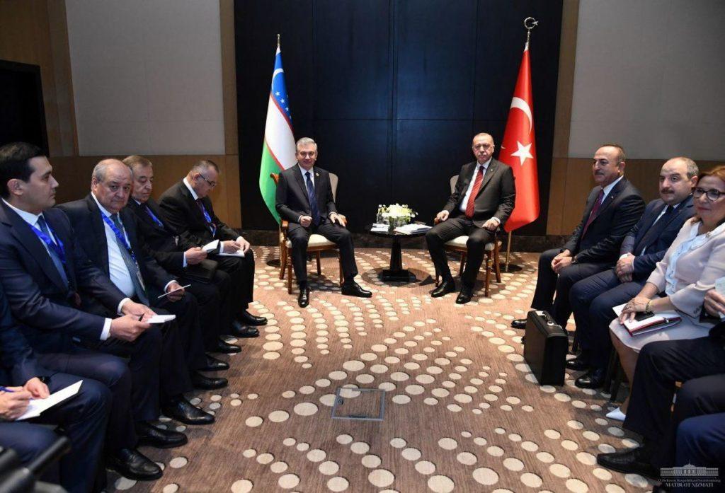 Ouzbékistan Politique Turquie Erdogan