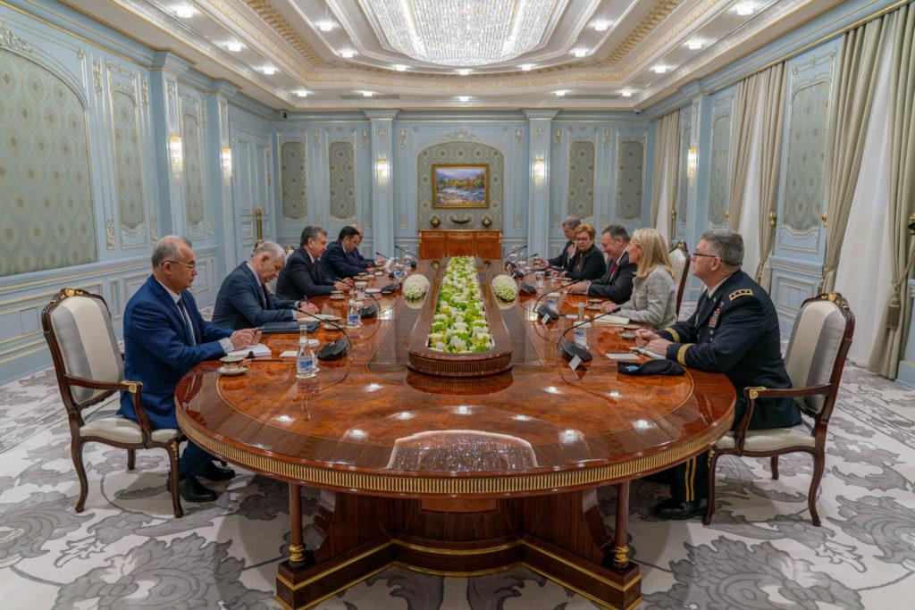 Ouzbékistan Politique Etats-Unis