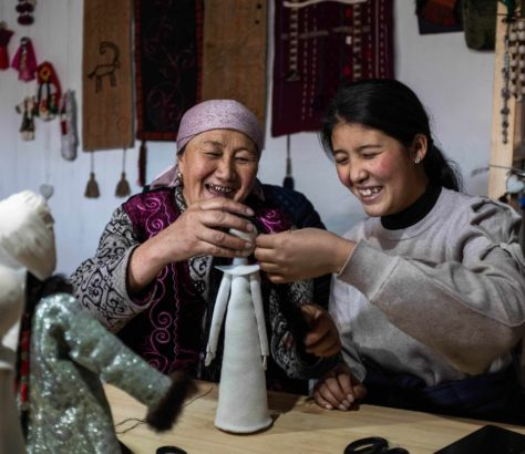 Photo du jour Kirghizstan Danil Usmanov Sary-Moghol Covid-19