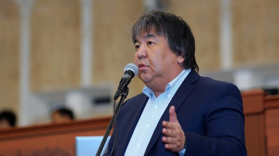 Sadyk Cher-Niyaz Ambassadeur Kirghizstan France