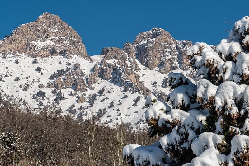 Ouzbékistan Soukok montagne Tchatkal