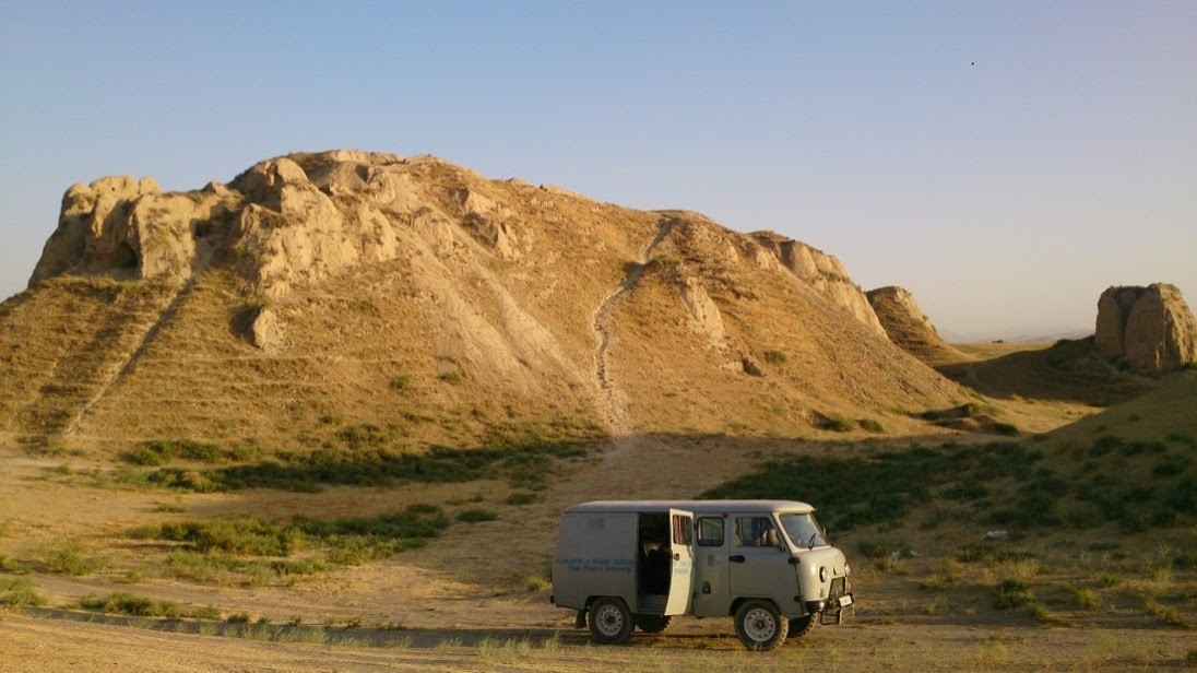 Kafir-Kala Archéologie Sogdiane Sogdiens Garde-manger Histoire
