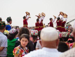 Région Ouïghoure Xinjiang Fête