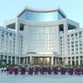 Turkménistan Bouygues Construction France Inauguration Hôtel Arkadag