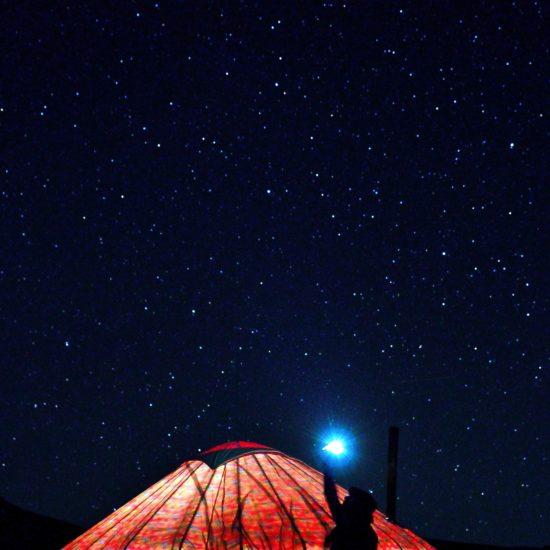 Photo du jour Kirghizstan Son-Koul Lac Nuit étoilée