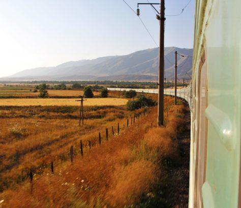 Photo du jour Kazakhstan Chimkent Train