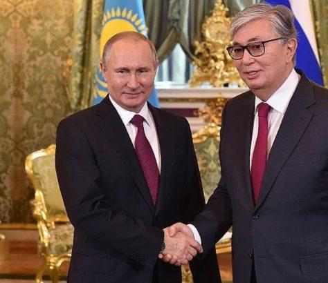 Kazakhstan Russie Histoire Politique Economie Vladimir Poutine Kassym Jomart Tokaïev