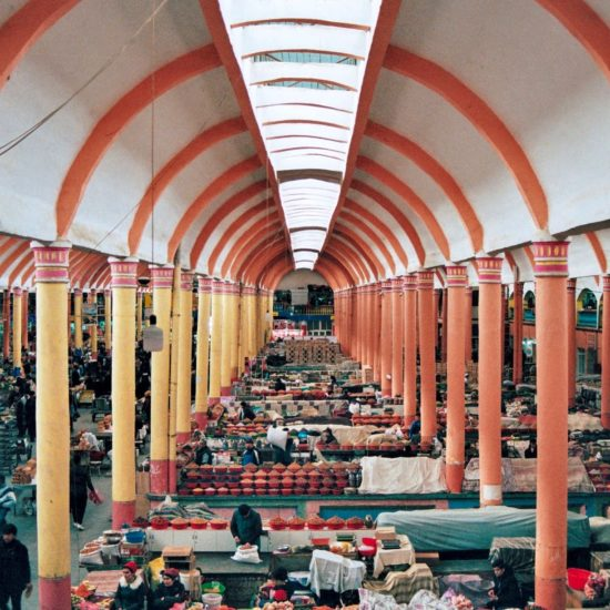 marché bazar tadjikistan couleurs khoudjand