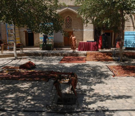 Photo du jour Ouzbékistan Boukhara Tapis Artisanat