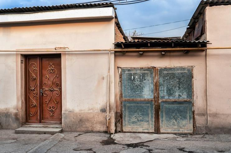 Zarkainar Ouzbékistan Quartier Vieille Ville Patrimoine