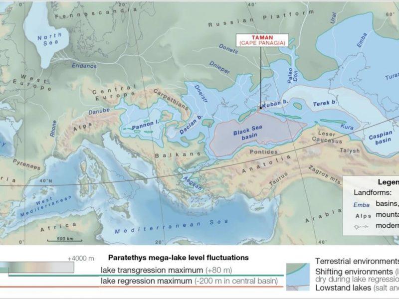 Mégalac Asie centrale Kazakhstan Paratéthys Recherche