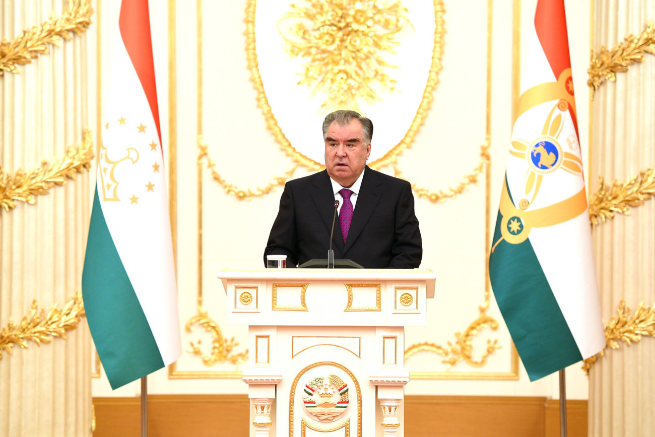 Emomali Rahmon France Diplomatie Relations bilatérales visite officielle