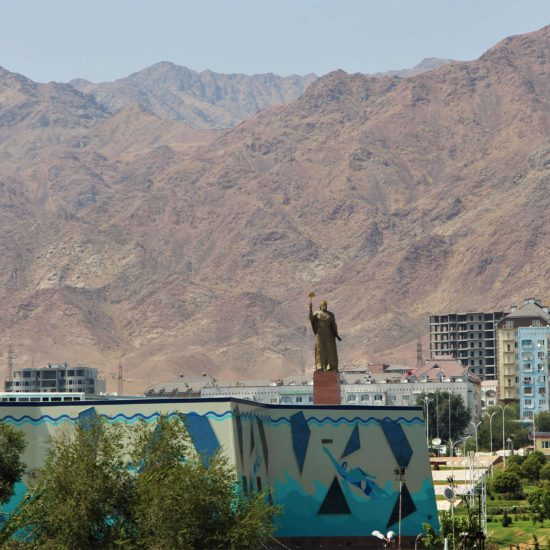 Tadjikistan, Khoudjand, Somoni, Montagnes