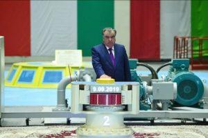 Tadjikistan Electricité Emomali Rahmon Rogoun