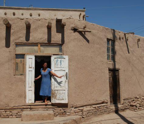 Maison traditionnelle khiva ouzbékistan