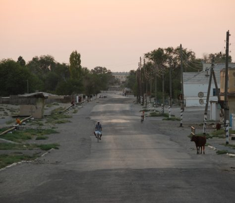 Moynaq Ouzbékistan mer d'Aral Karakalpakstan