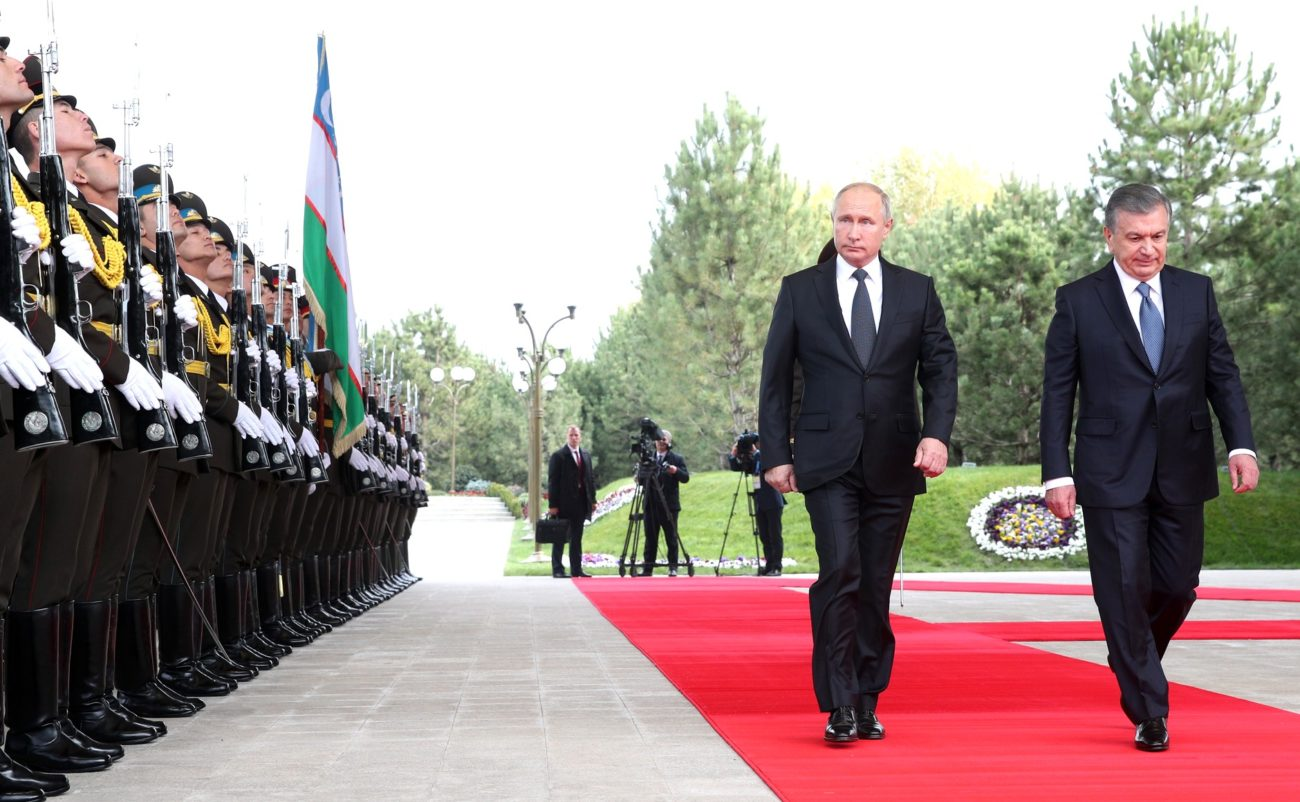 Vladimir Poutine Chavkat Mirzioïev Russie Asie centrale Diplomatie
