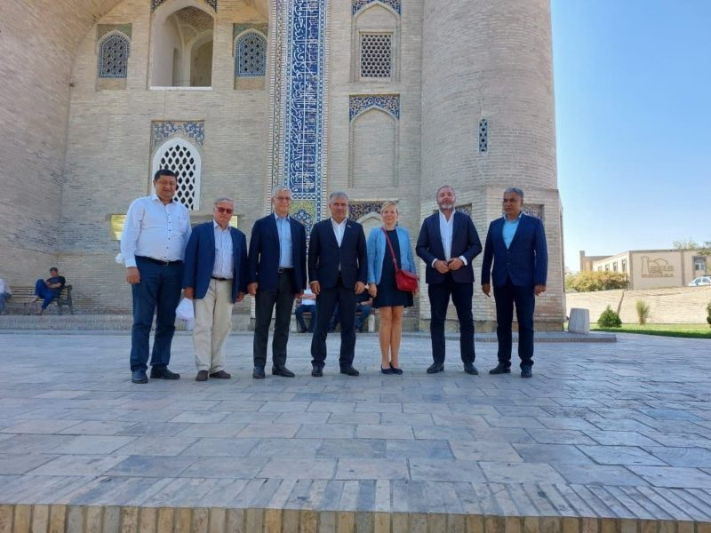 Groupe d'amitié France-Asie centrale Sénat Ouzbékistan Visite