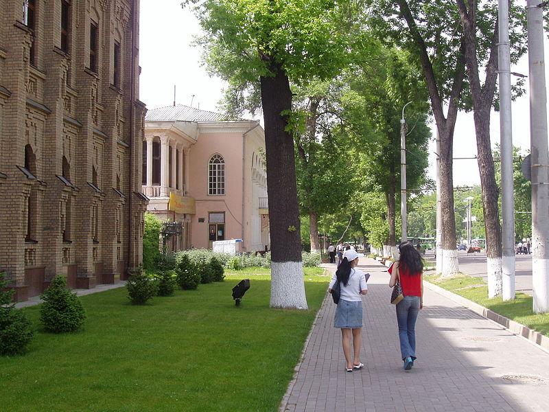 Centre ville de Tachkent