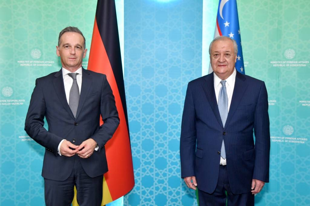 Ouzbékistan Allemagne Tadjikistan Heiko Maas Diplomatie Visite