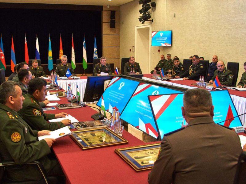 Asie centrale Russie Défense aérienne partagée CEI