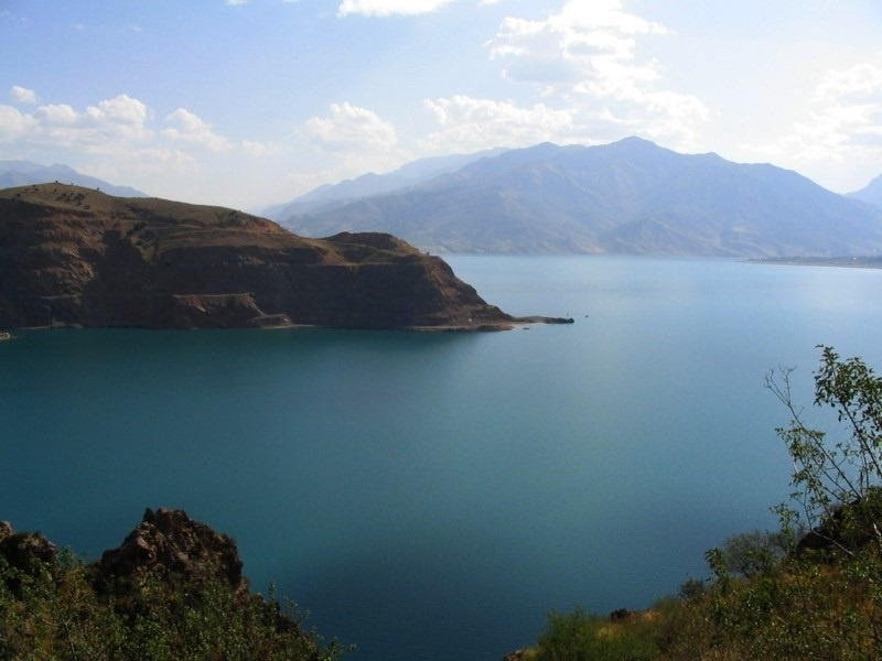 Lac Tcharvak Ouzbékistan Tachkent