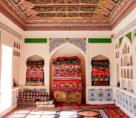 Khoudjand, Tadjikistan, Tapis, Maison, Tradition, Photo du jour