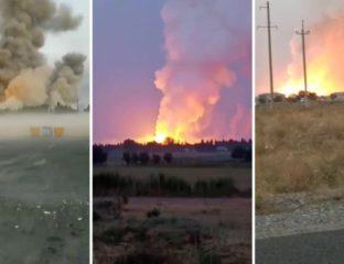 Explosions Taraz Jambil Kazakhstan Militaire Dépôt Nourlan Yermekbaïev Démission