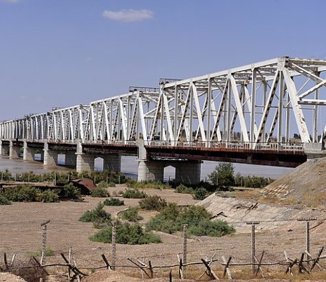 Pont Afghanistan Ouzbekistan Frontière