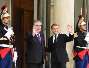 Emmanuel Macron Emomali Rahmon visite officielle France Tadjikistan Politique Diplomatie