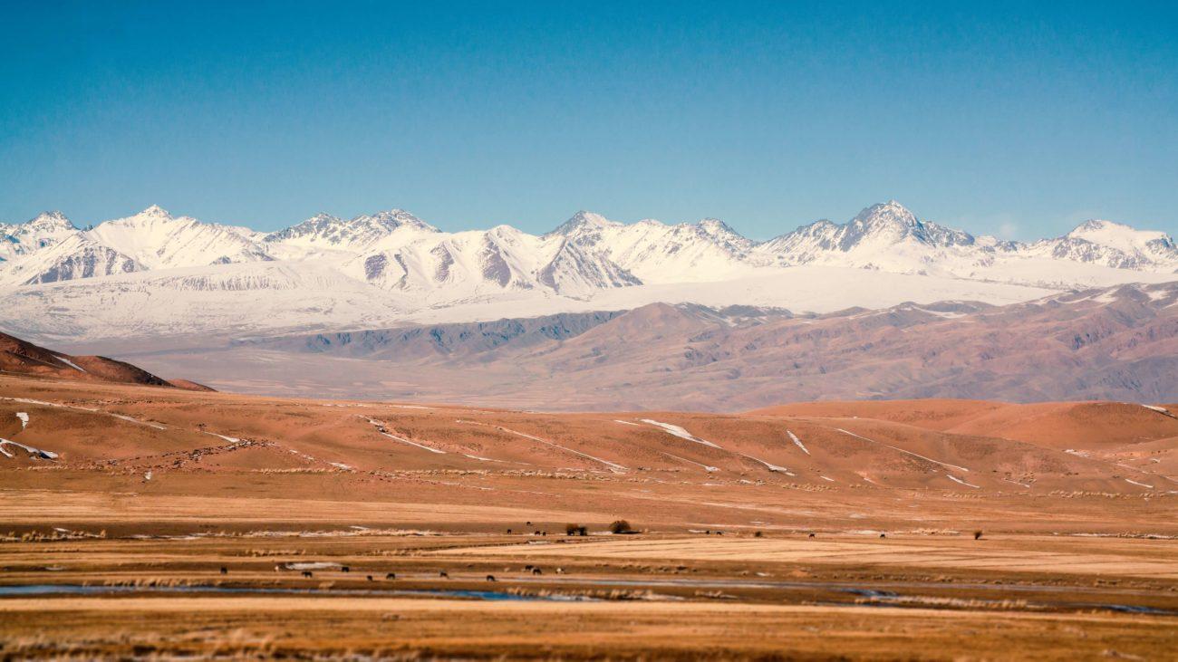 Route, Kirghizstan, Photo du jour, Montagne, Vallée du Tchouï
