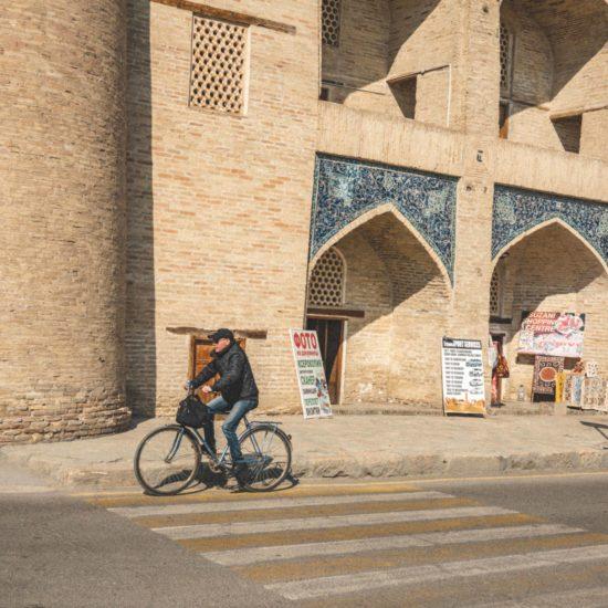 Boukhara Ouzbékistan vélo