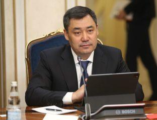 Sadyr Japarov Gouvernement Remaniement Akylbek Japarov
