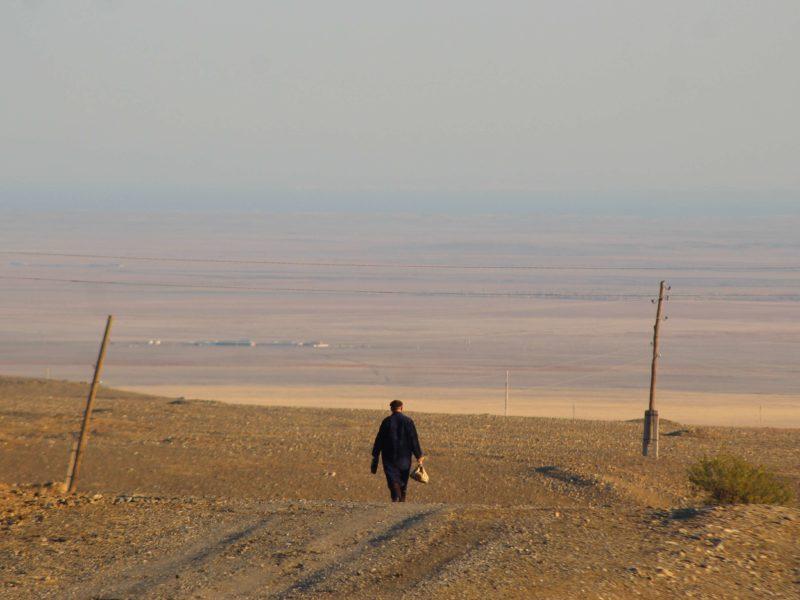 Marche, Photo du Jour, Ouzbékistan, Djizak, pain