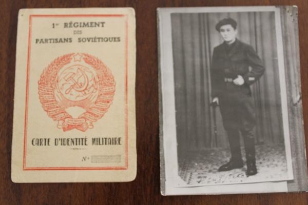 Djekishev carte identité militaire