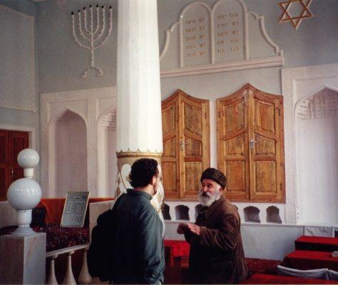 Juifs Boukhara Ouzbékistan synagogue rabbin