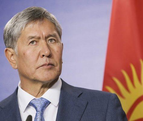 Amazbek Atambaïev président du Kirghizstan
