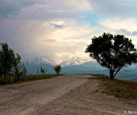 Sur les routes kirghizes
